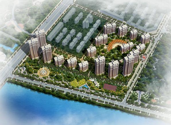 中铁建领秀城福花园小区